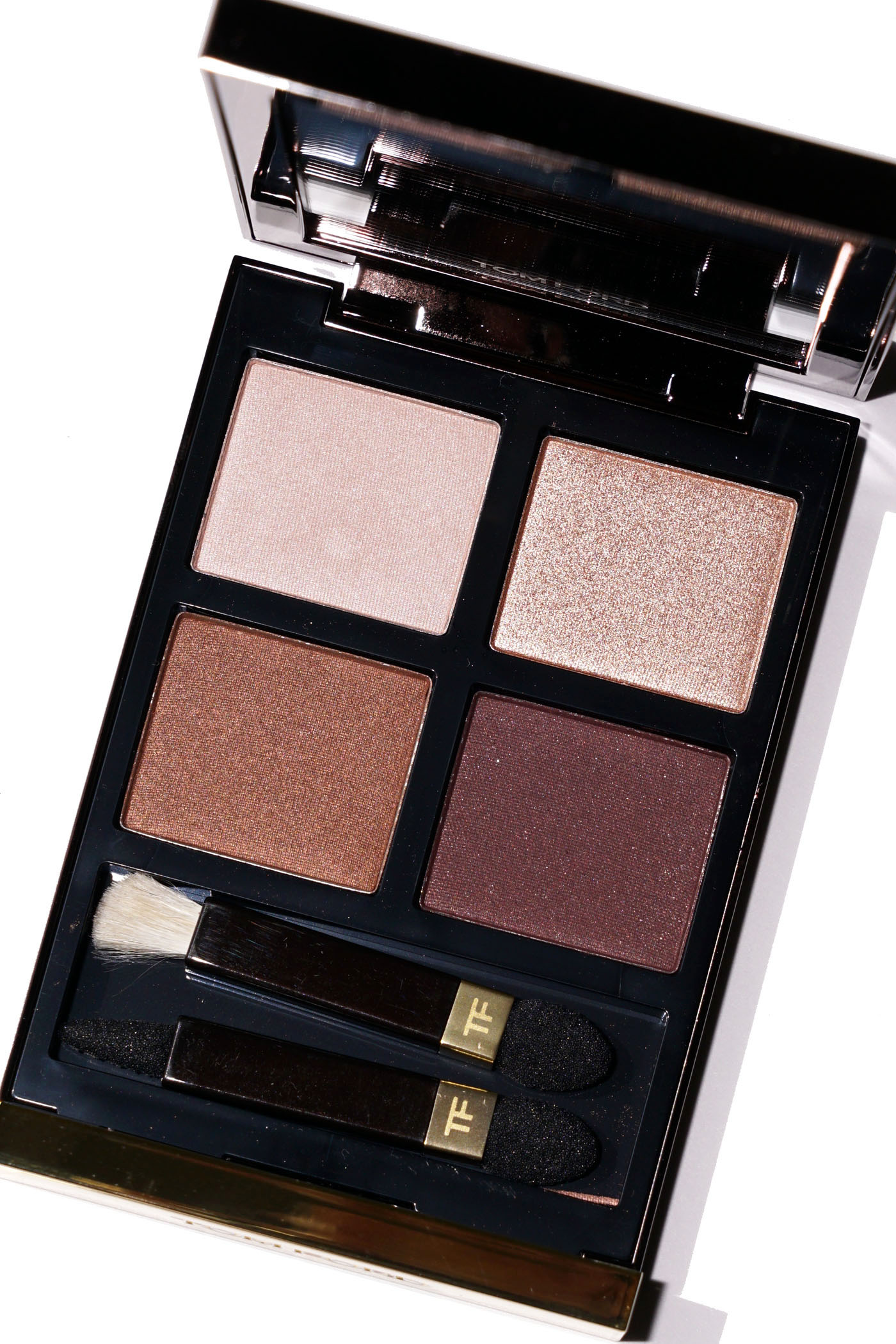 Tom Ford iris Bronze Eyeshadow Quad Review | The Beauty Look Book