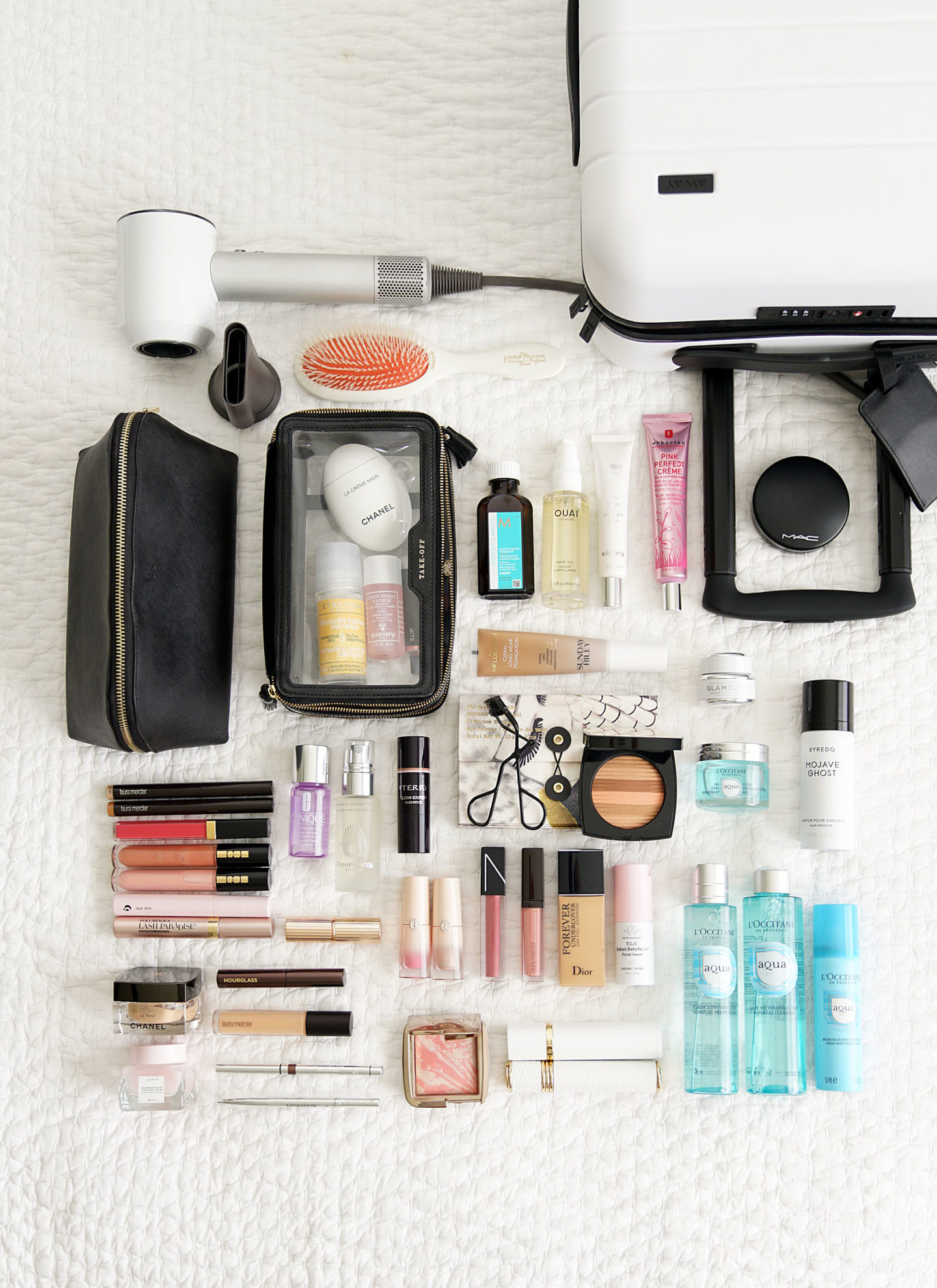 Travel Beauty Packing | The Beauty Look Book