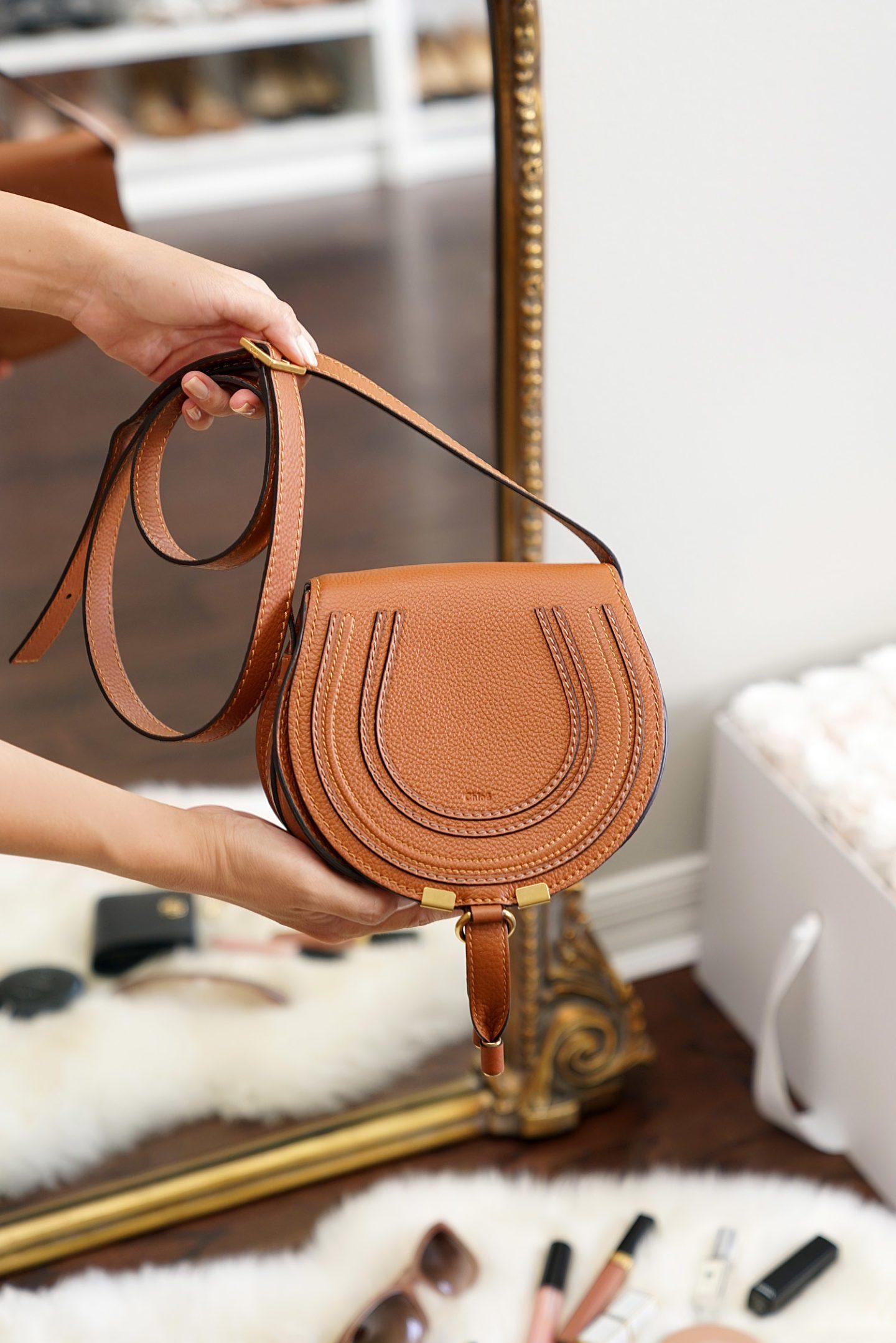 Chloe Mini Marcie Bag Review Tan | The Beauty Look Book