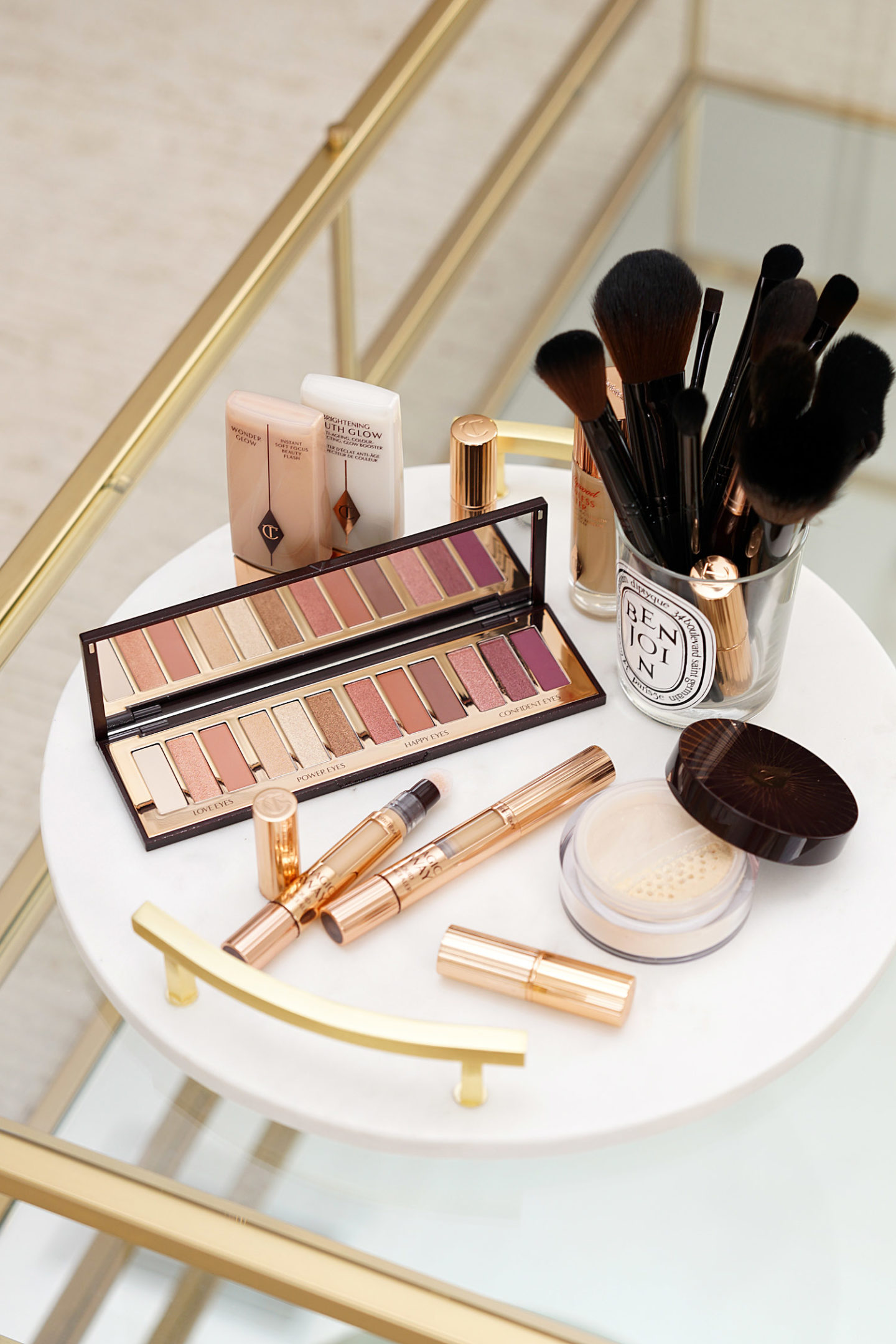 Charlotte Tilbury Magic Away Concealer, Magic Powder and Stars in Your Eyes Palette Review