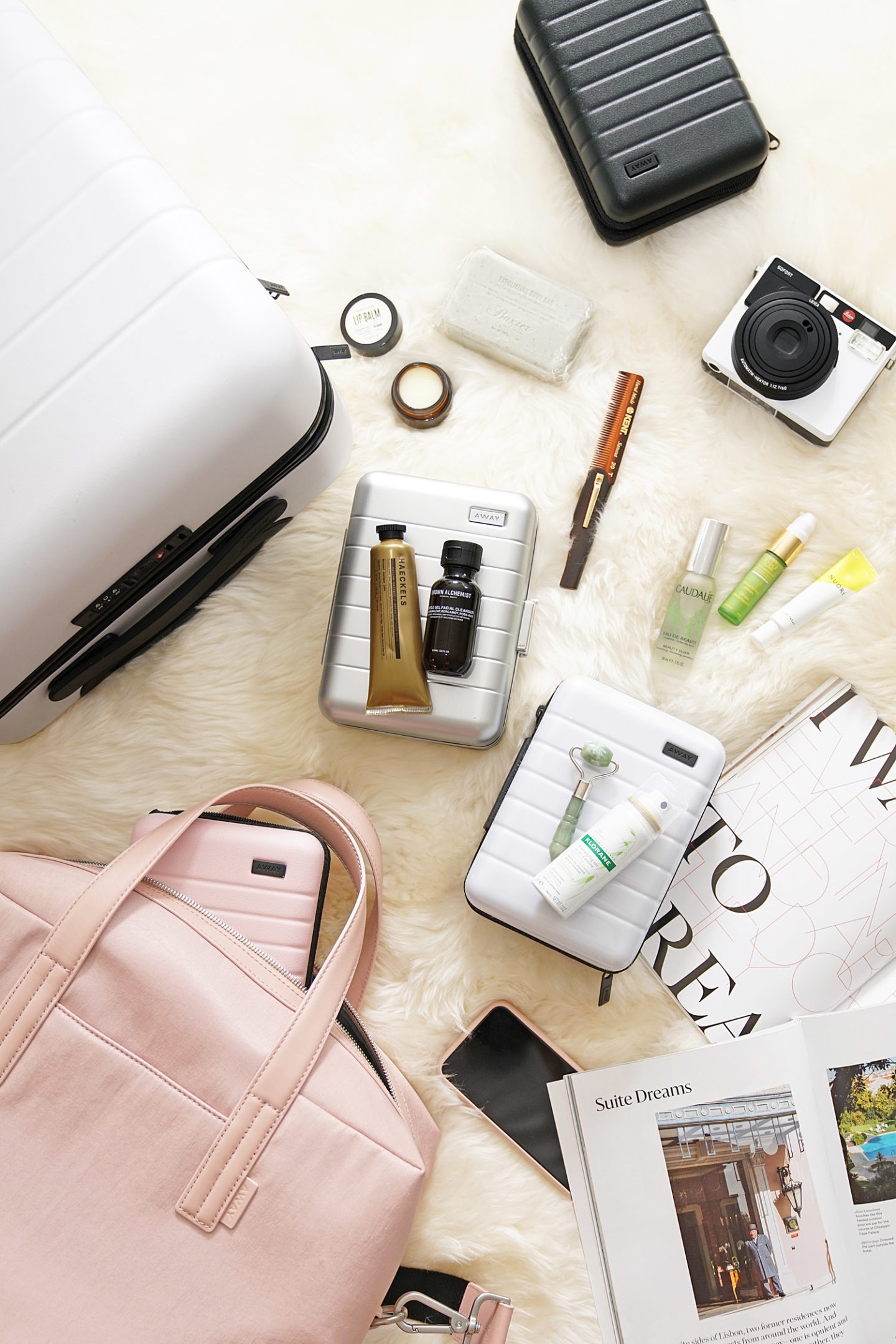 Away Mini Suitcase Review Holiday 2018 | The Beauty Look Book