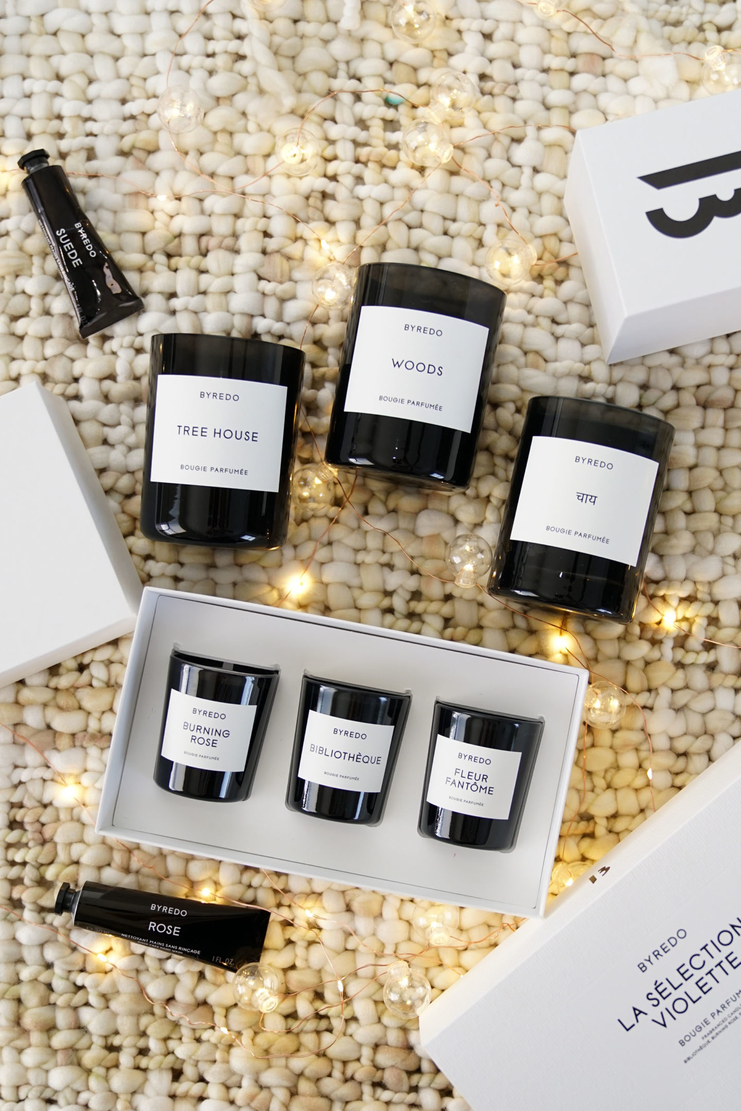 Best of Byredo candles, Tree House, Woods and Chai + Minis | The Beauty Look Book