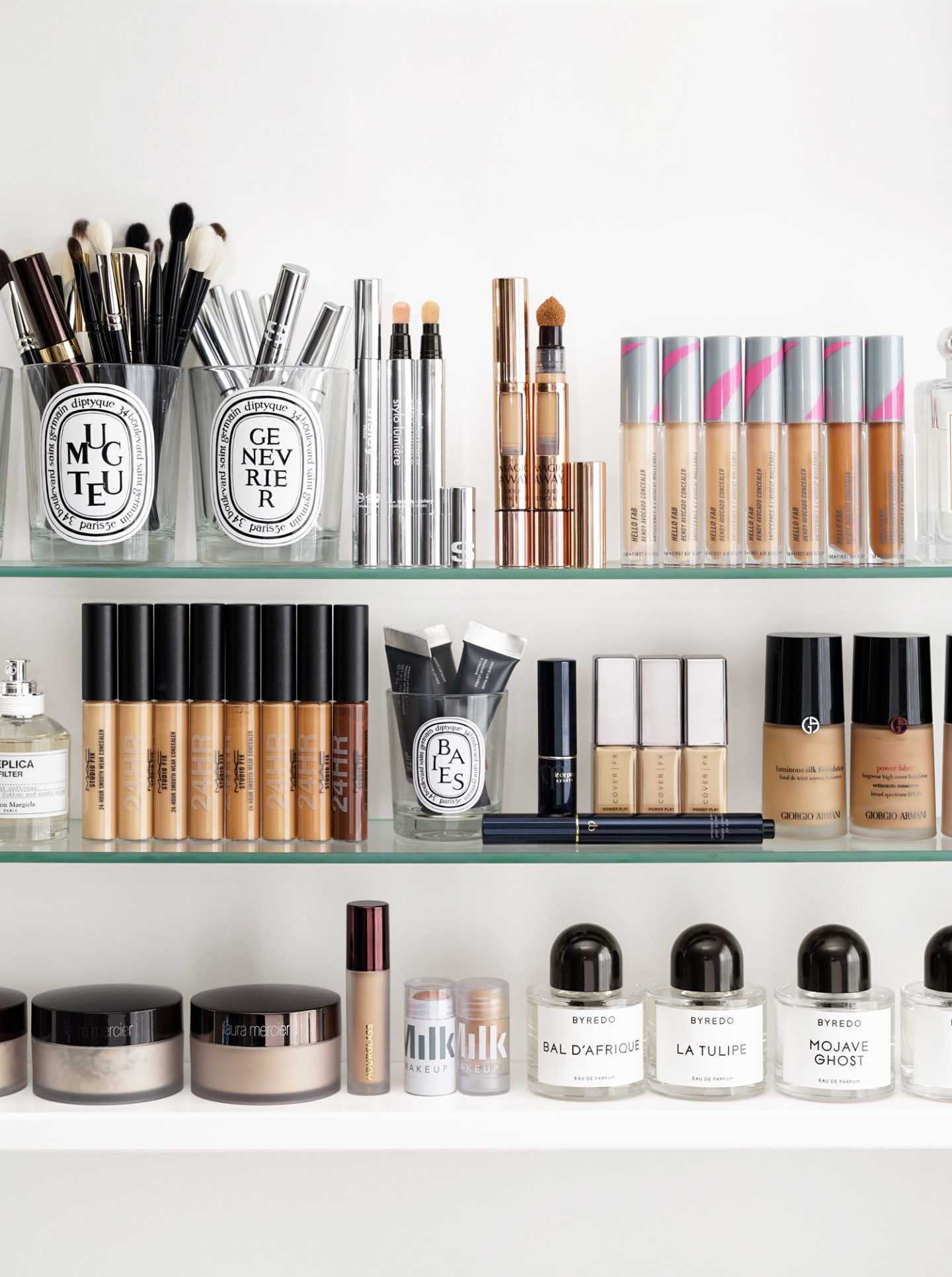 Concealer Roundup Cle de Peau, Cover FX, MAC and Sisley