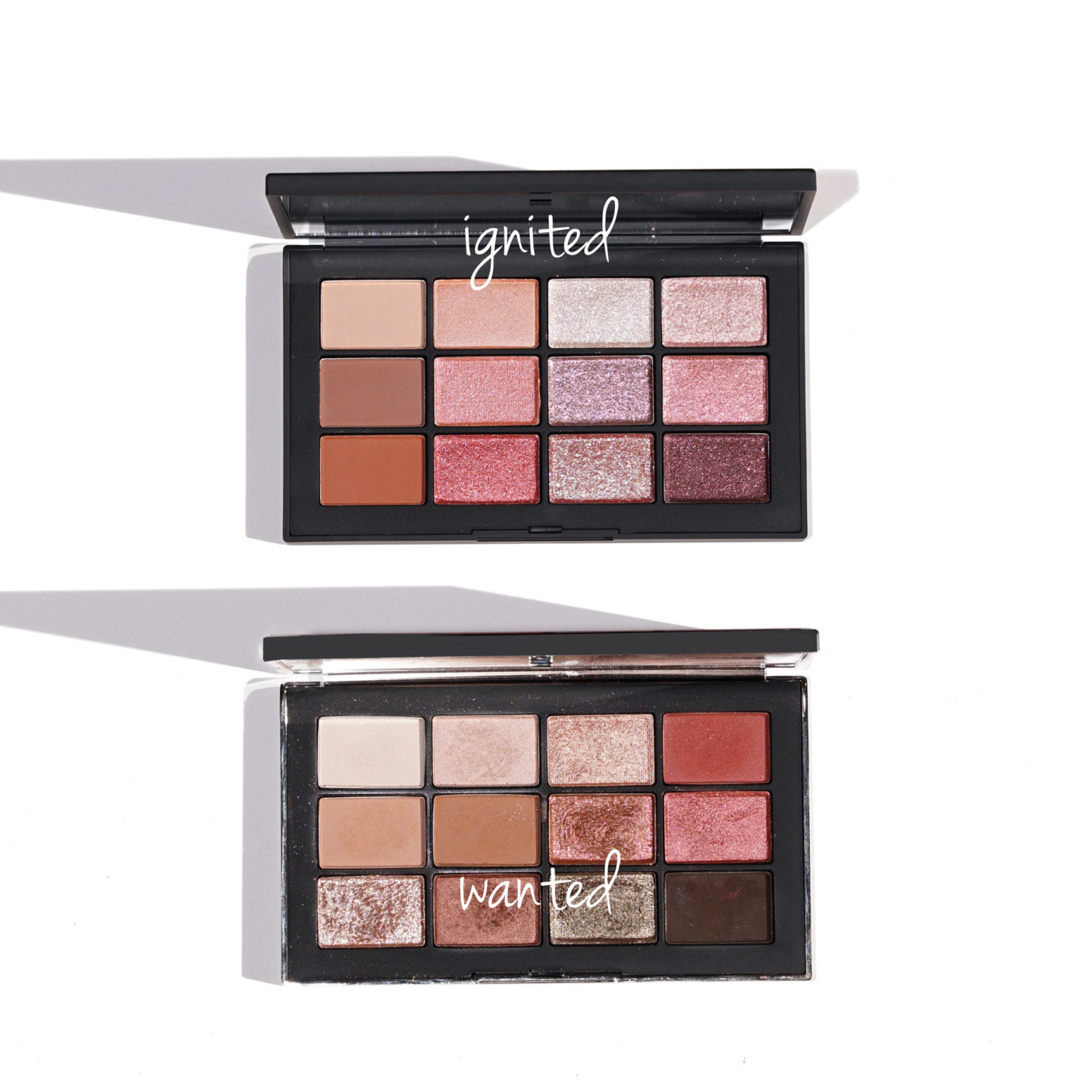 NARS Ignited vs Wanted Eyeshadow Palettes