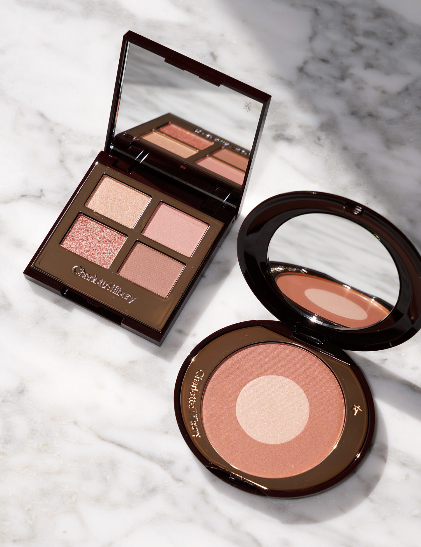 Charlotte Tilbury Pillow Talk Eyeshadow and Cheek to Chic Blush Review | The Beauty Look Book