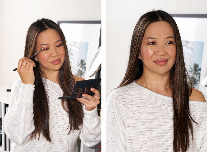 NARS Skin Deep Eye Palette Makeup Look via Sabrina, The Beauty Look Book