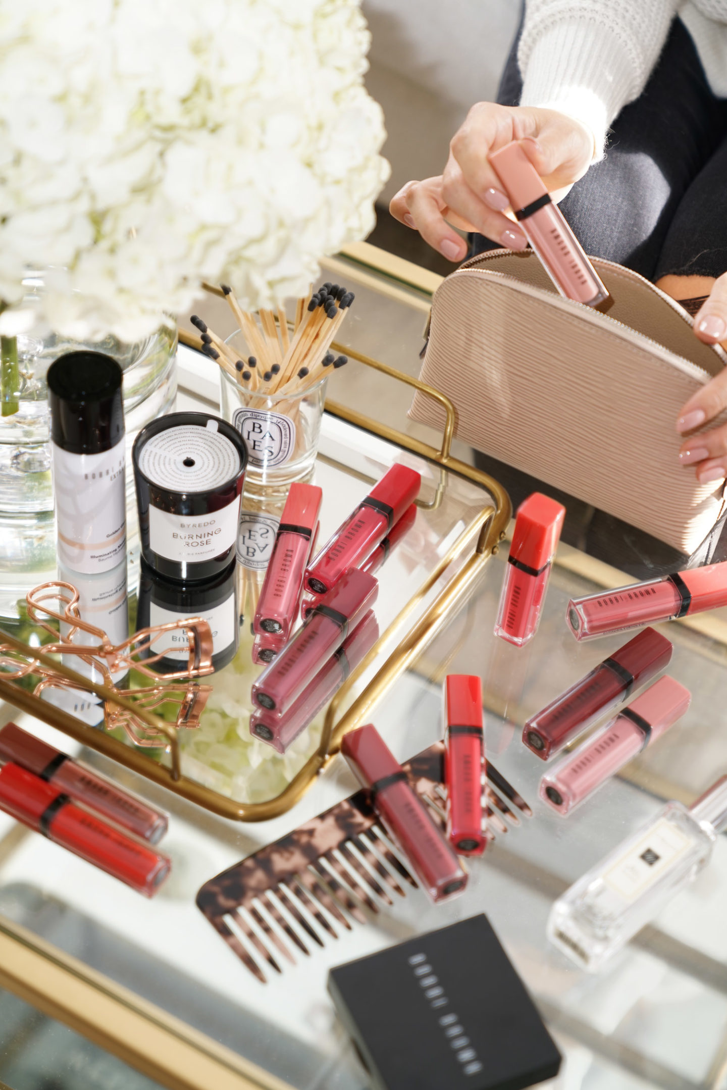 Bobbi Brown Crushed Liquid Lip Balm Review and Swatches | The Beauty Look Book