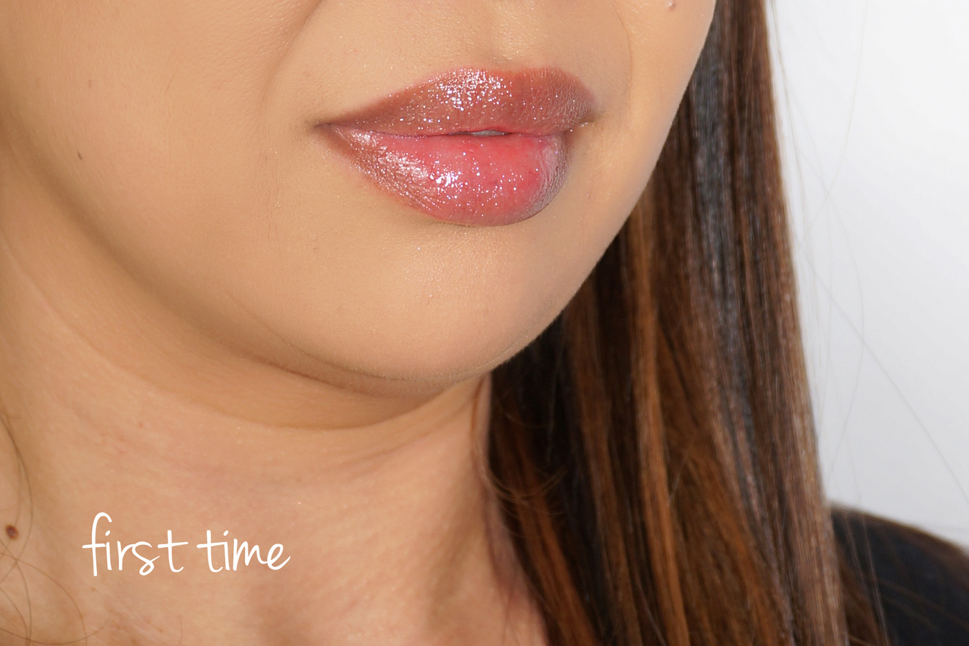 NARS Multi-Use Gloss Swatch First Time