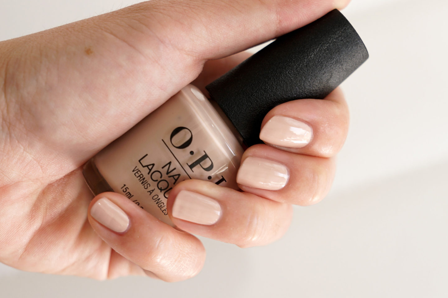 OPI Tiramisu for Two best opaque neutral polish