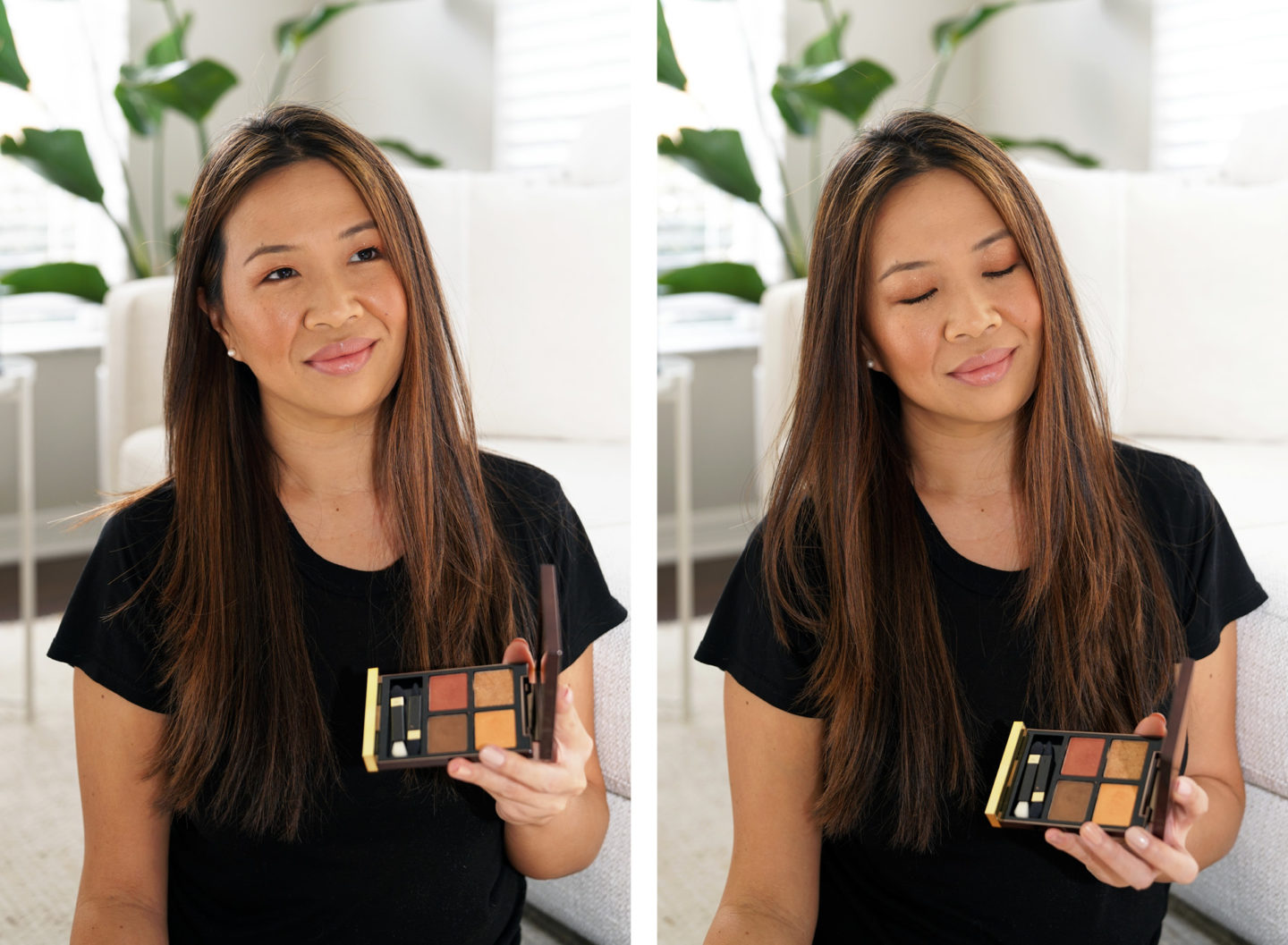 Tom Ford Leopard Sun Eyeshadow Quad makeup look | The Beauty Look Book