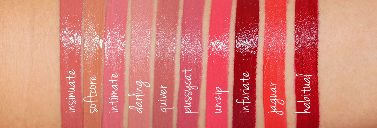 Tom Ford Lip Lacquer Luxe Review and Swatches