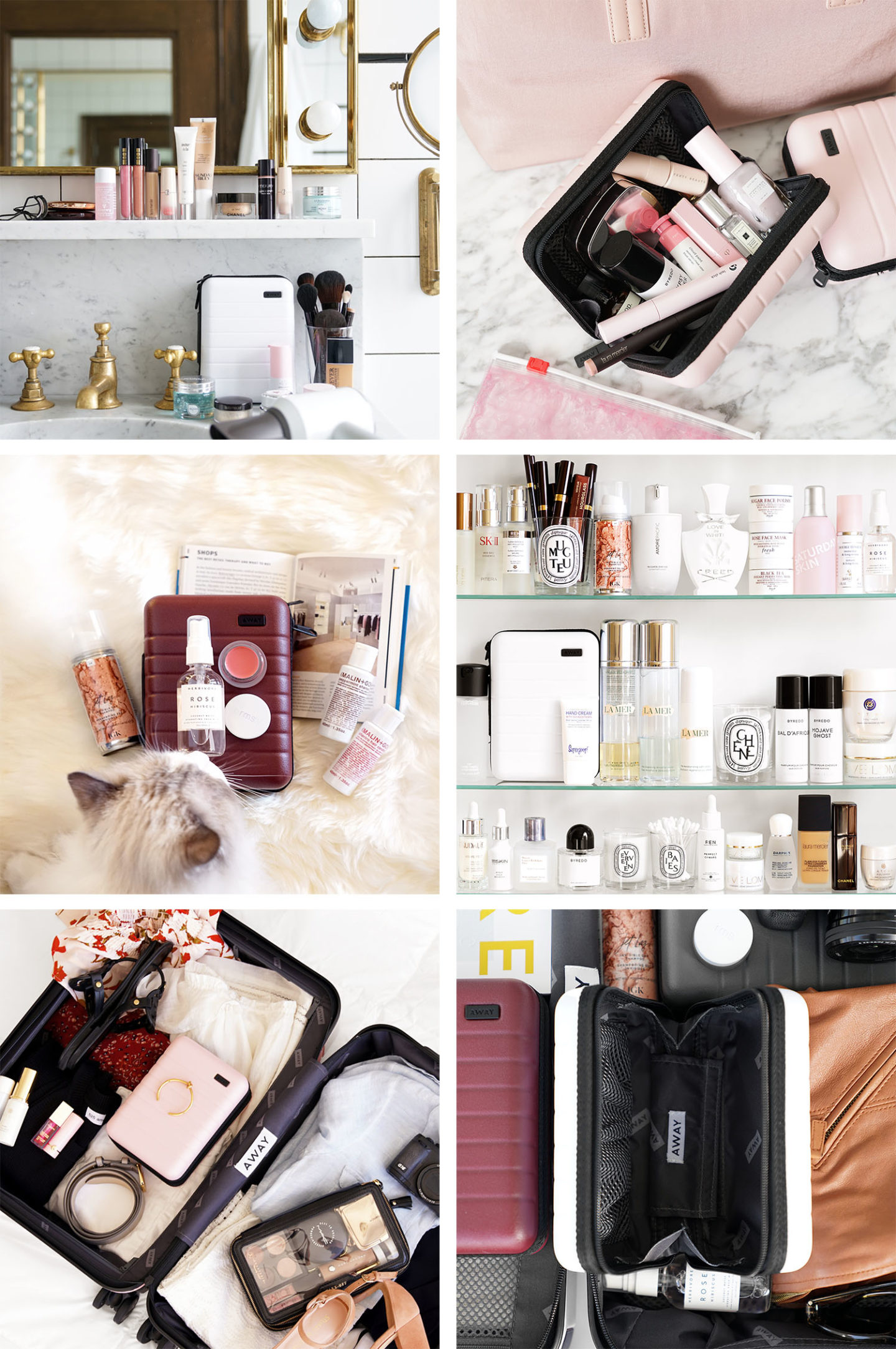 The Beauty Look Book Away travel minis