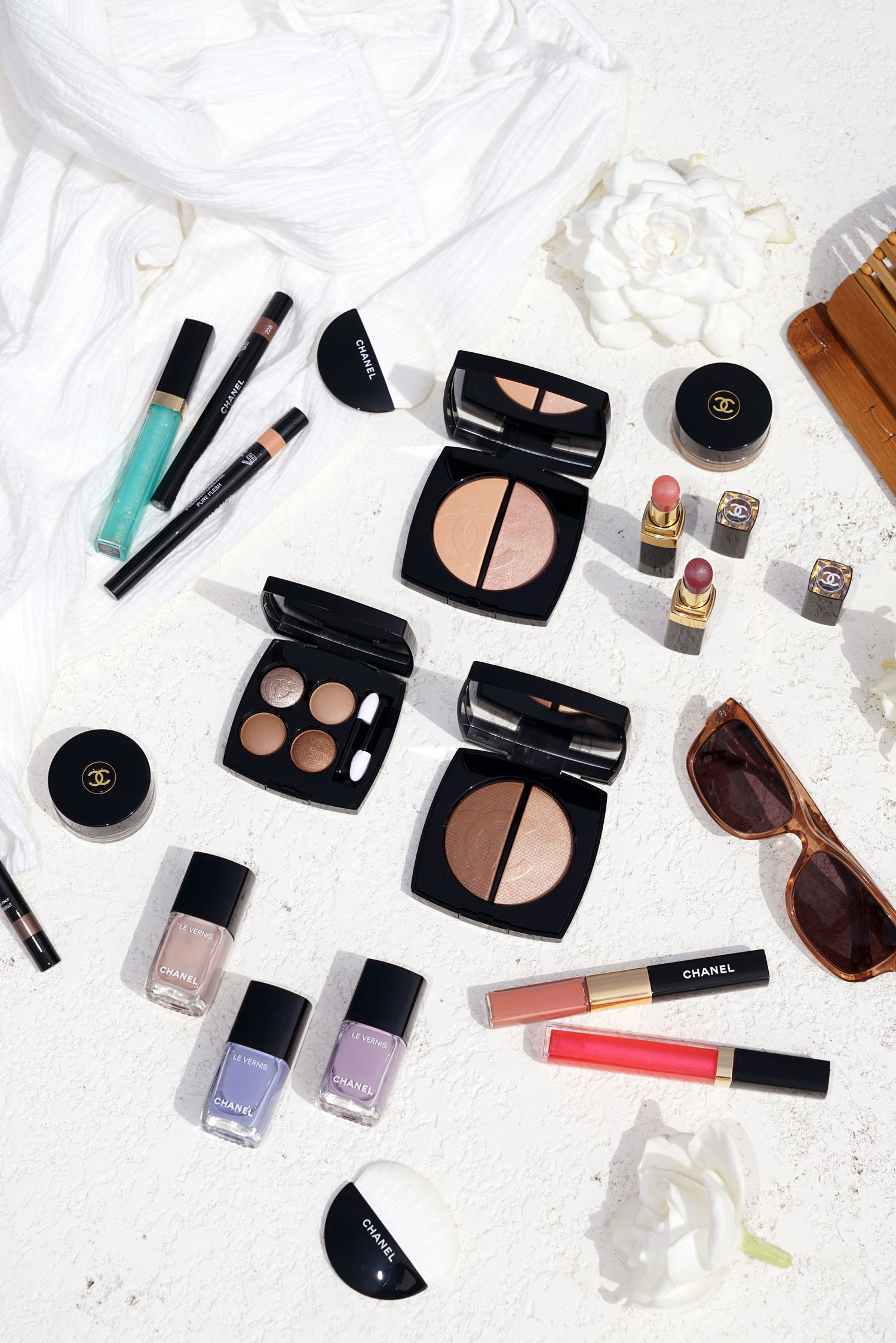1679409c Chanel Cruise 2019 Collection Lumiere Et Contraste | The Beauty Look ...
