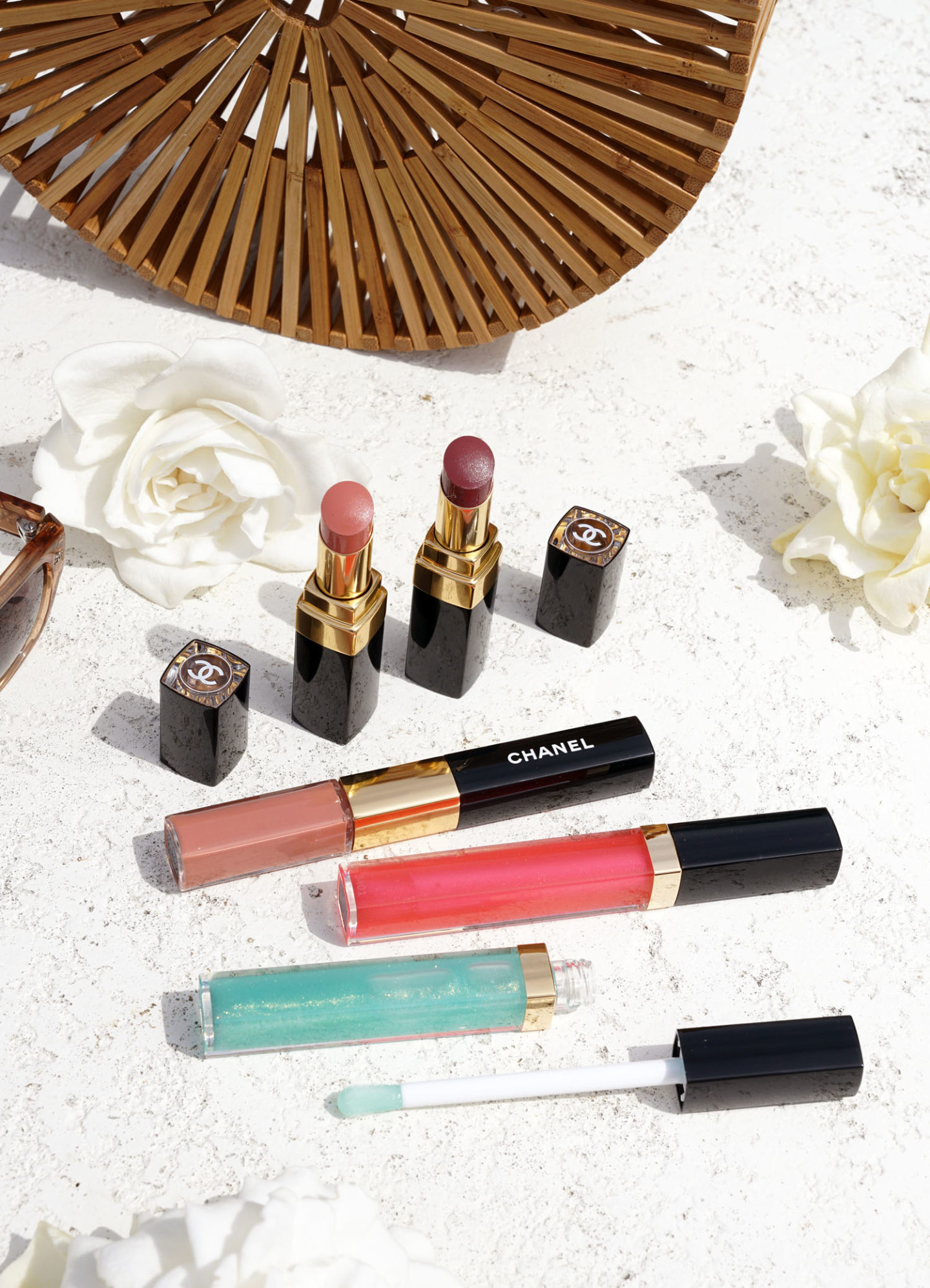 Chanel Cruise 2019 Beauty Lips Rouge Coco Flash and Gloss | The Beauty Look Book