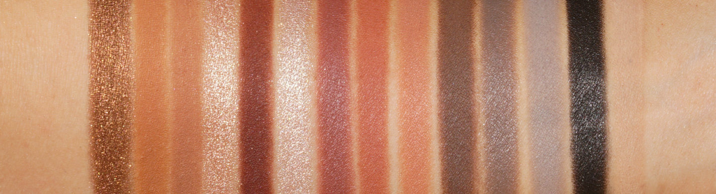 Natasha Denona All Neutral Biba Eyeshadow Swatches