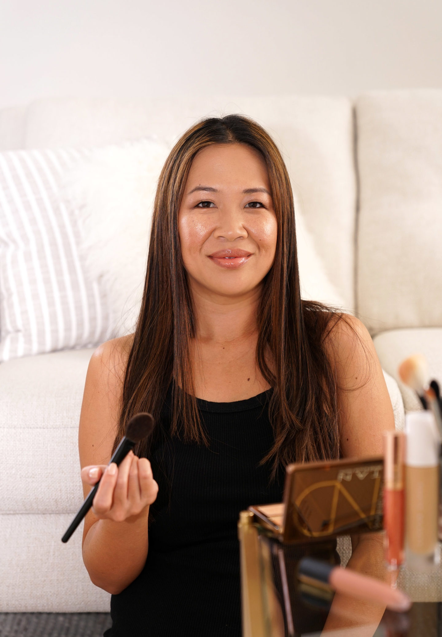 Natasha Denona Tan Bronze and Glow Makeup Look