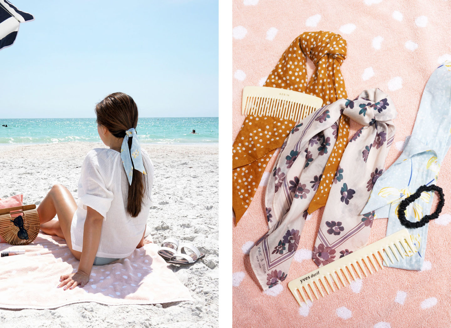 Hair Scarf Beach Accessories | The Beauty Look Book