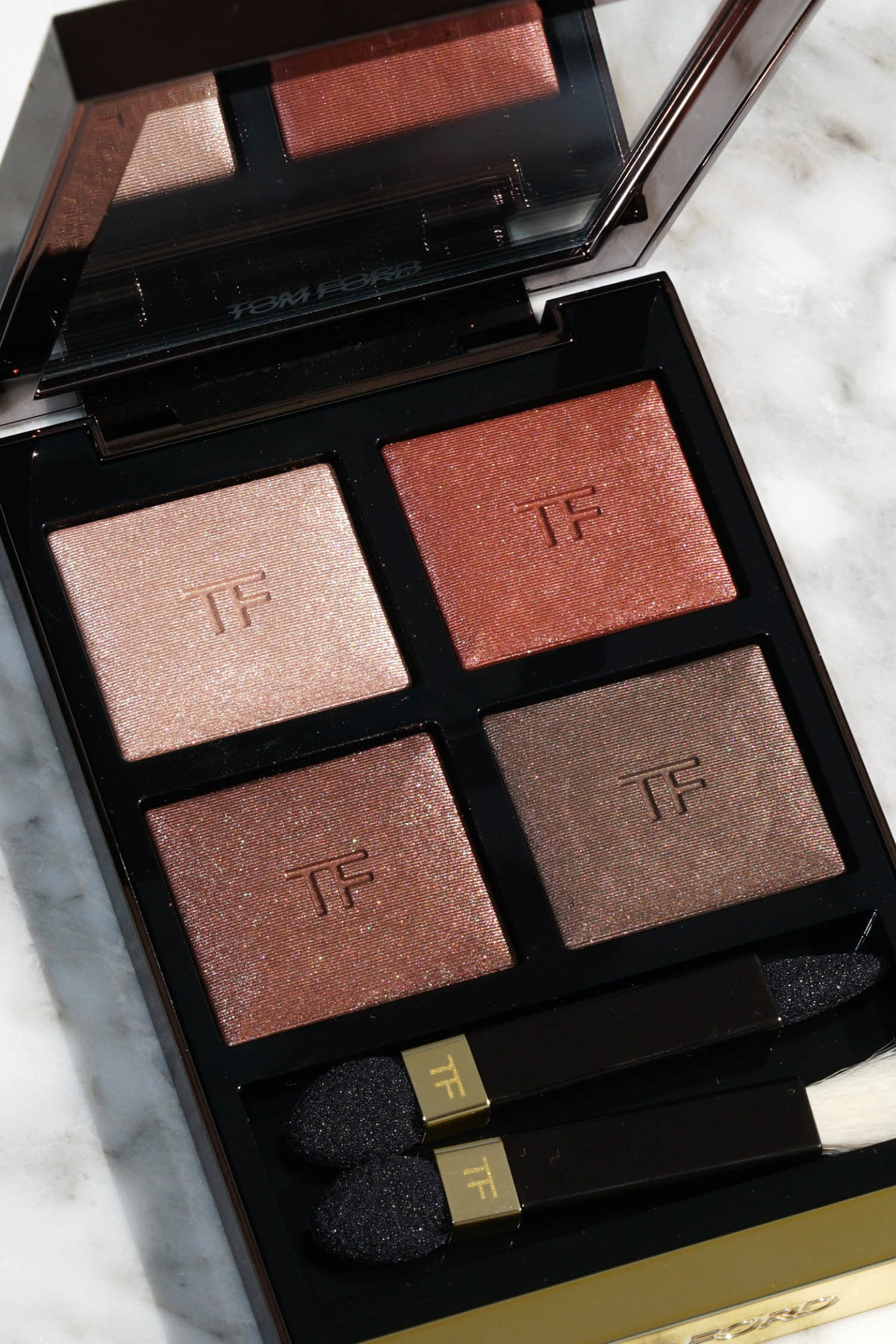 Examen de la chaleur corporelle Quad de Tom Ford Eye Color | Le look book beauté