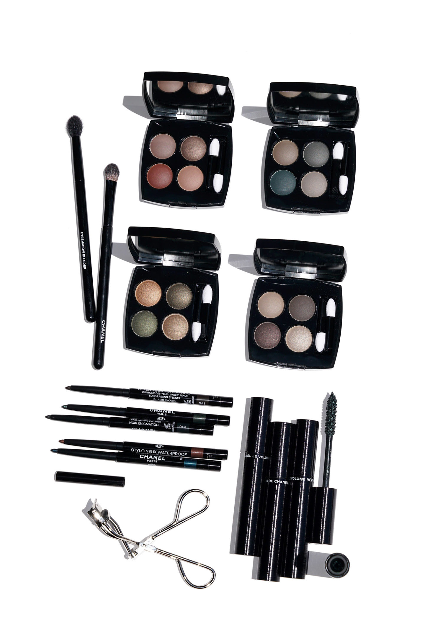Chanel Beauty The New Eye Collection Review and Swatches | The Beauty Look Book