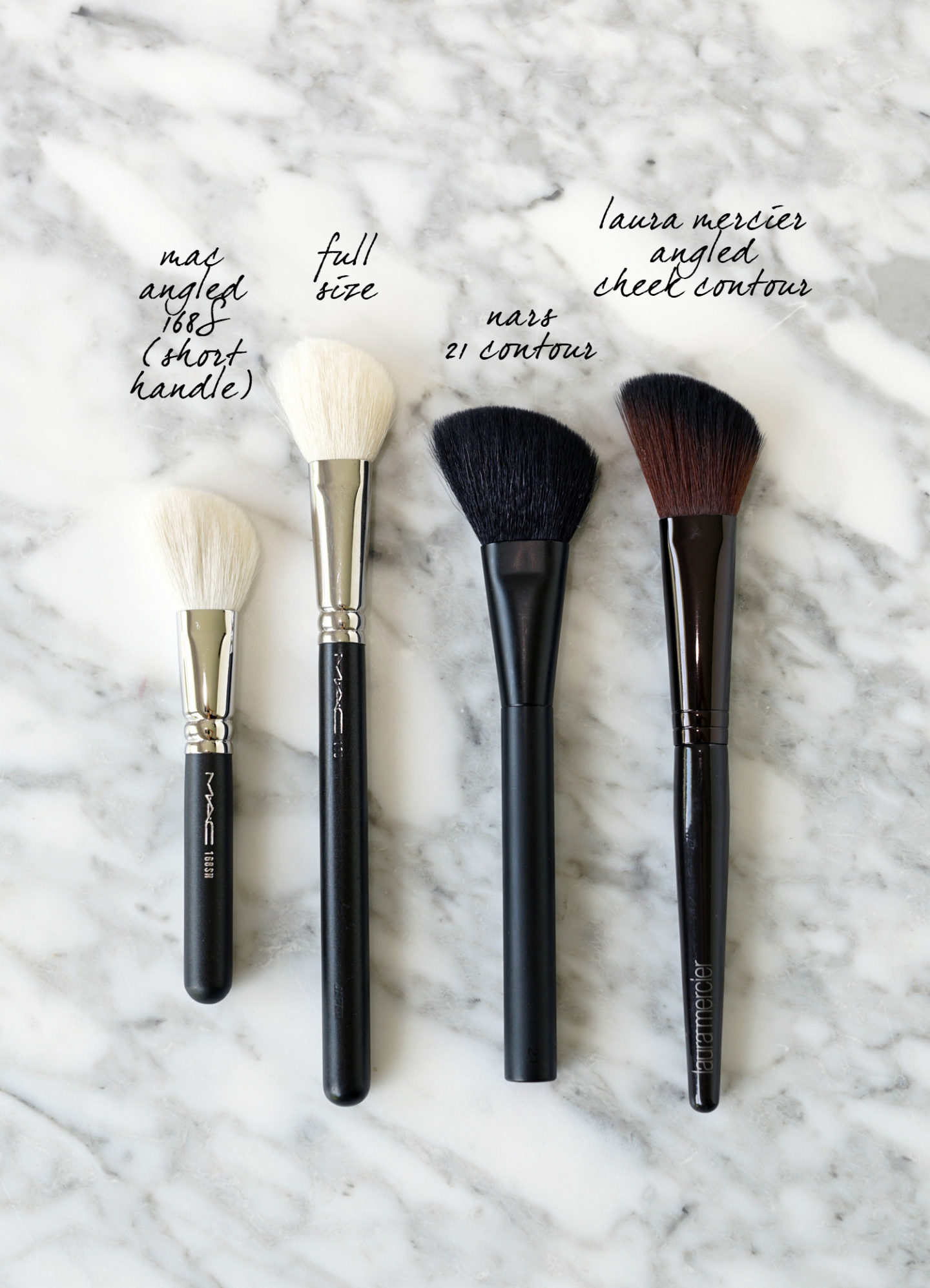 Favorite Angled Makeup Brushes