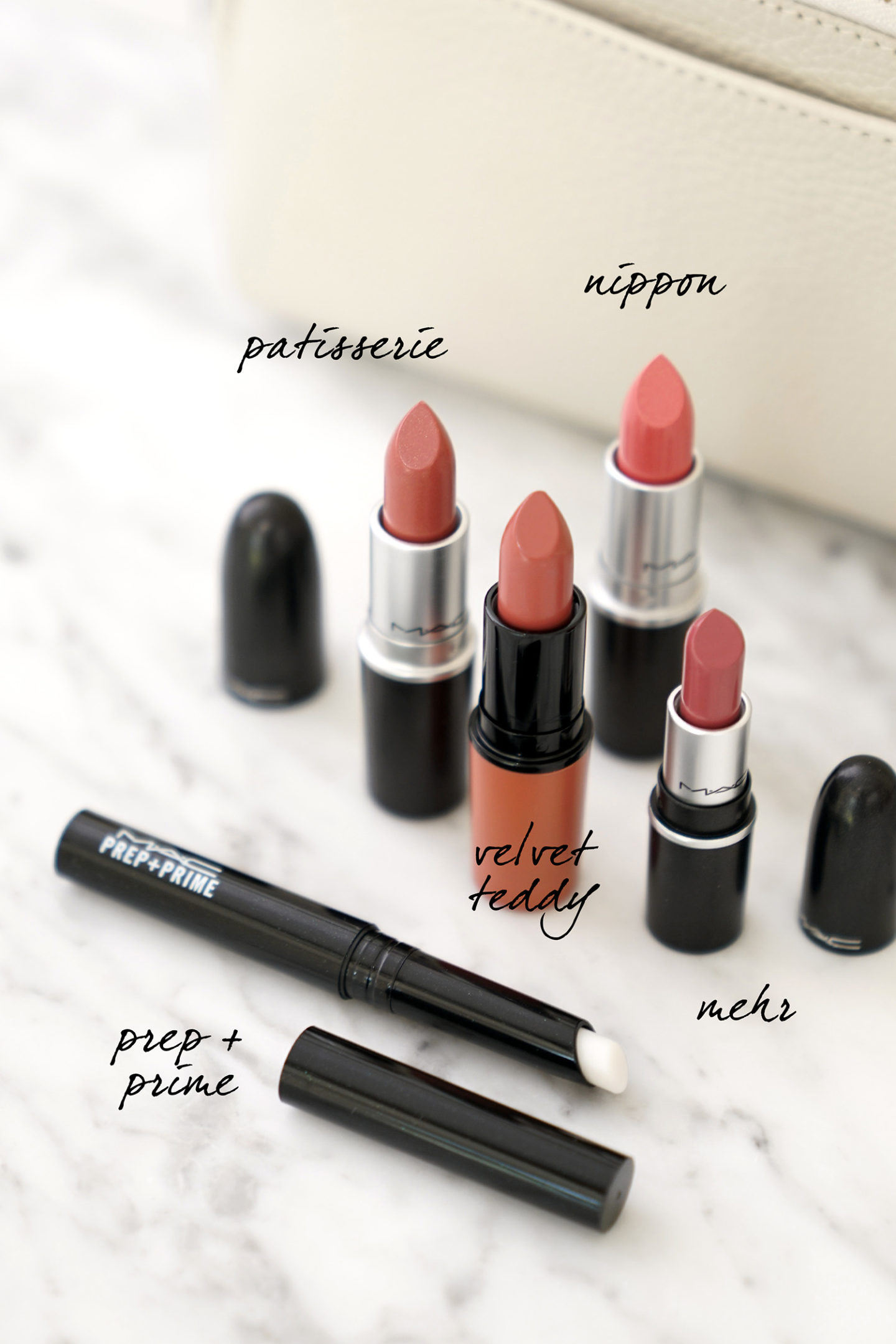 Best MAC Neutrals Patisserie, Velvet Teddy, Nippon, Mehr