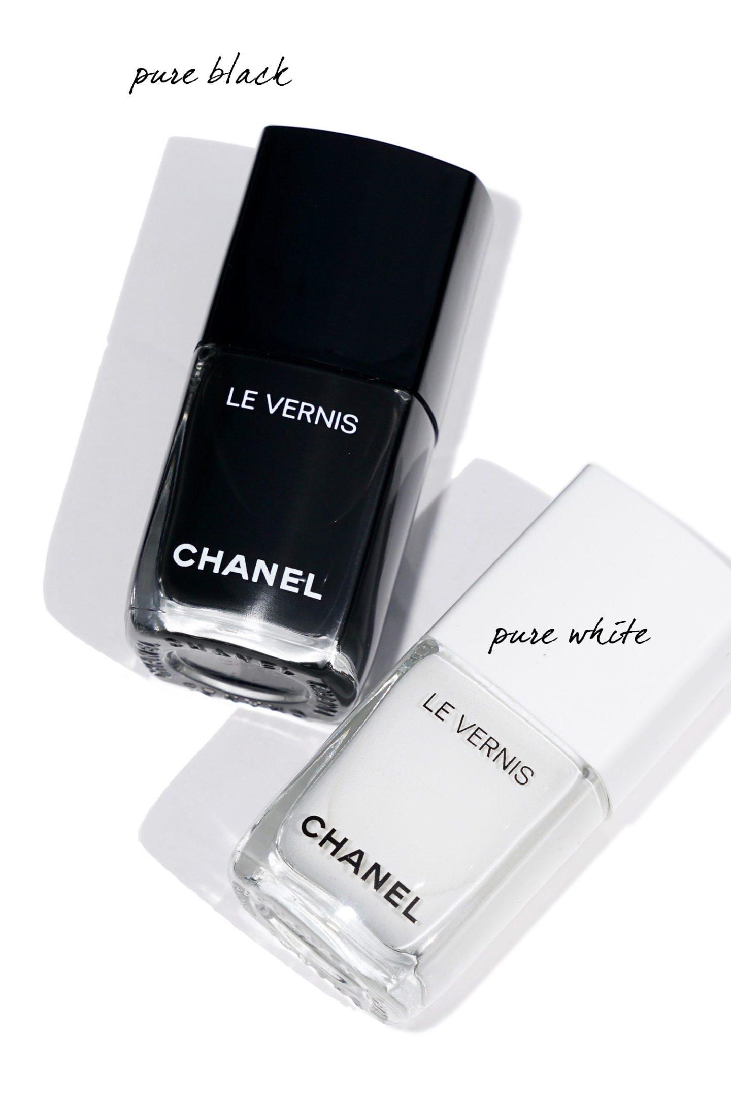 Chanel Fall 2019 Le Vernis Pure Black and Pure White