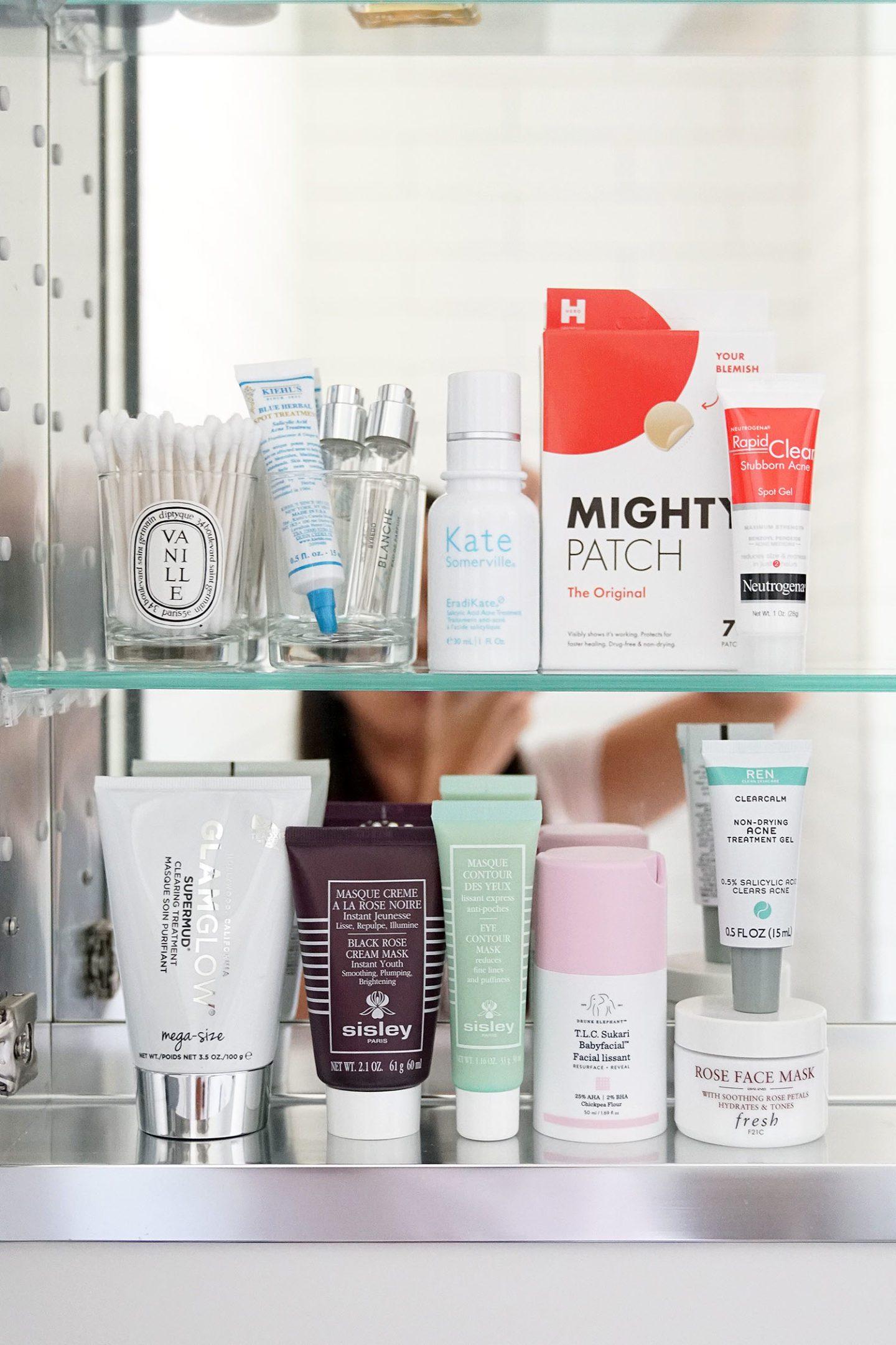 Traitements contre l'acné et masques préférés