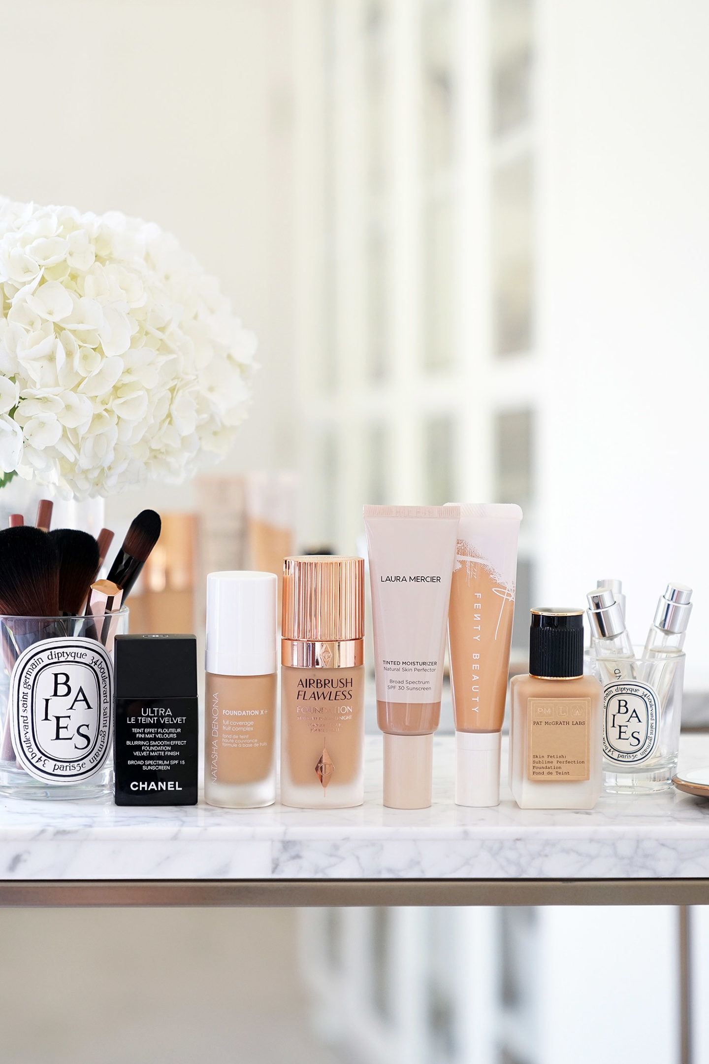 Foundation Roundup Chanel, Pat McGrath, Charlotte Tilbury