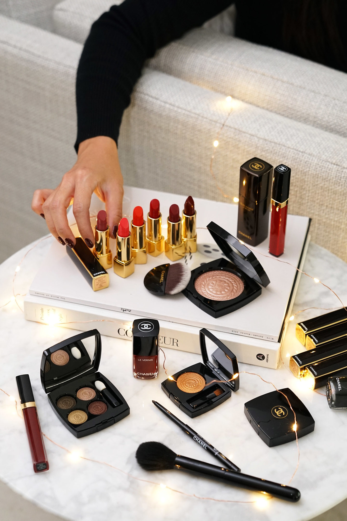 Chanel Holiday 2019 Makeup Collection The Beauty Look Book