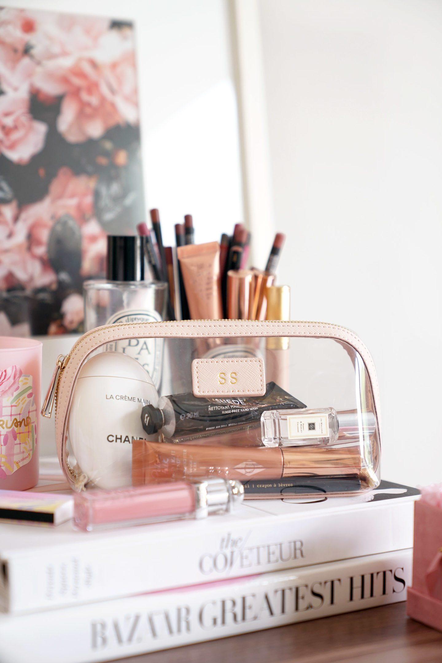 Best Clear Makeup Bag Beauty Blog Review