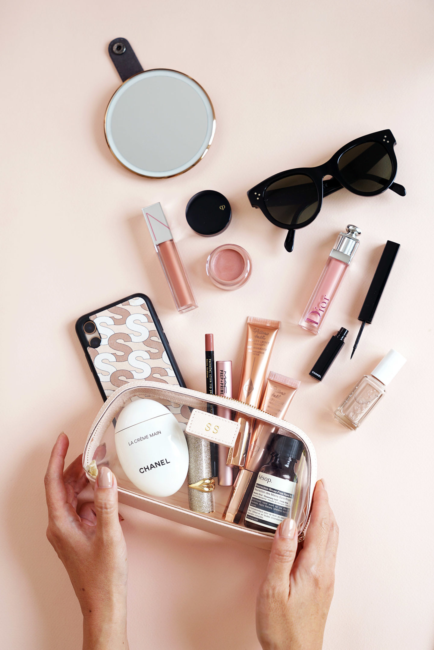 Daily Edited Clear Makeup Bag