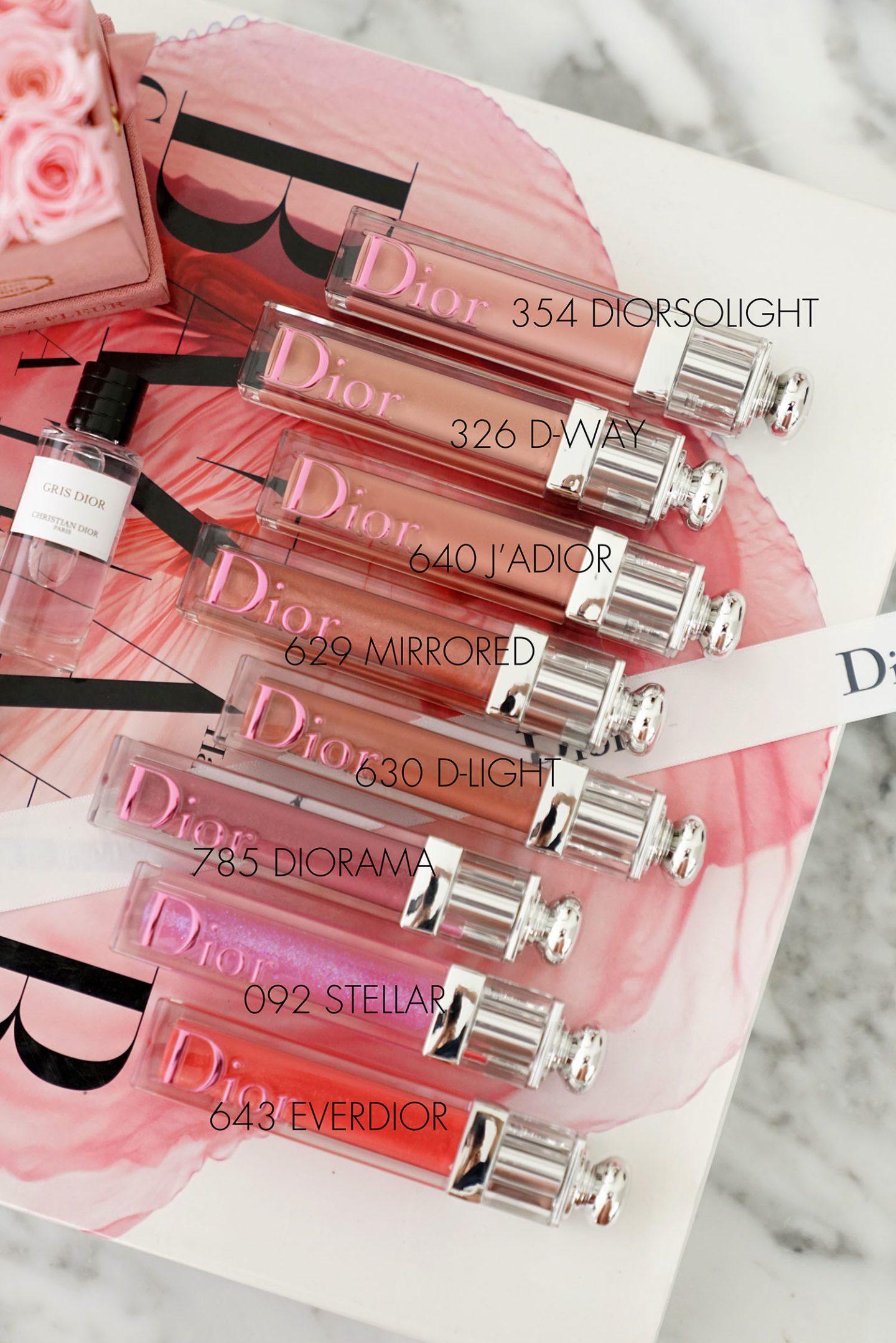 Dior Addict Stellar Gloss haul