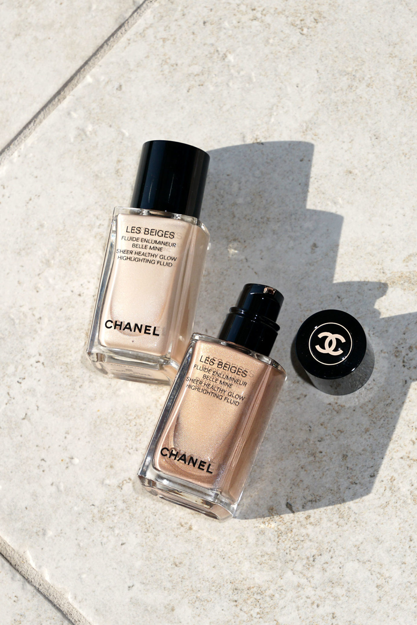 Chanel Les Beiges Sheer Healthy Glow Highlighting Fluid Review