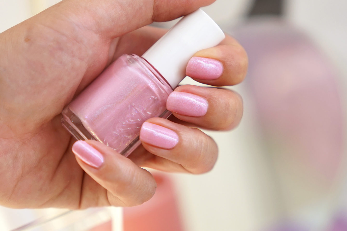 Essie Nail Polish Kissed by Mist