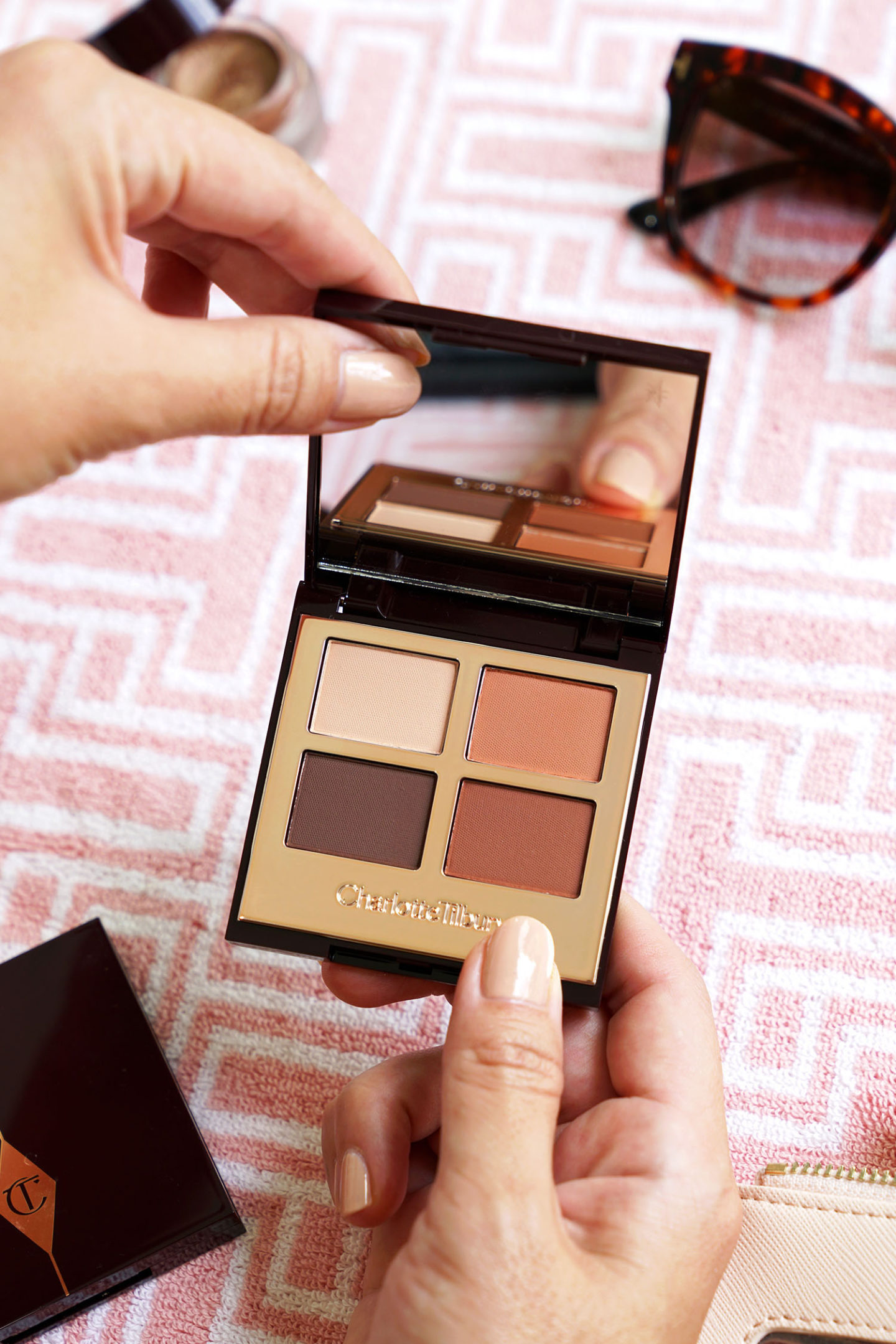 Charlotte Tilbury Eyeshadow Quad in Desert Haze