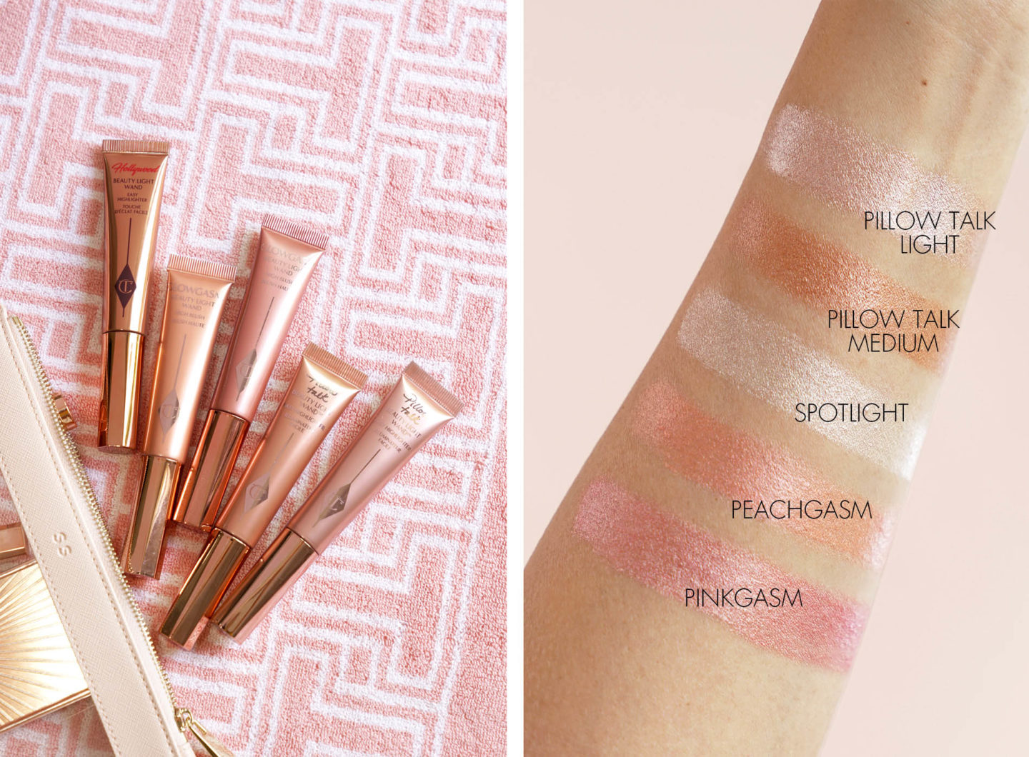 Charlotte Tilbury Beauty Light Wand Swatches | The Beauty Look Book