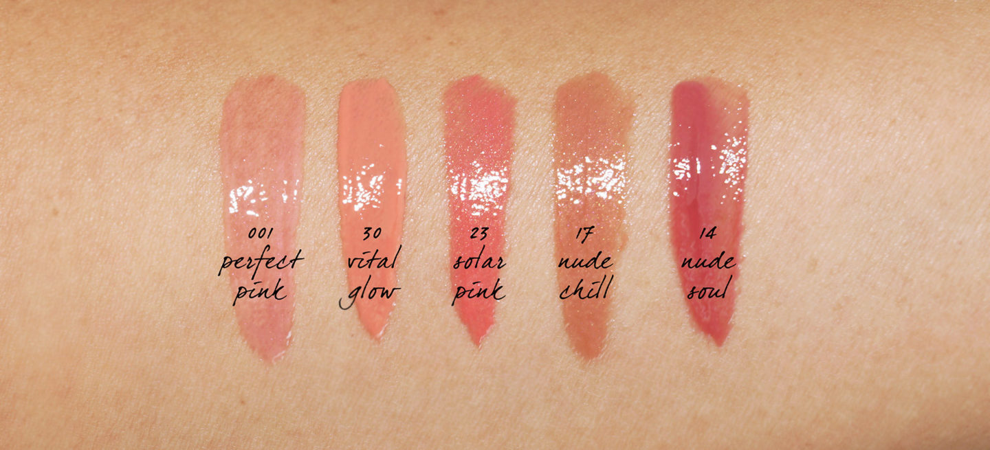 Givenchy Le Rose Perfecto Liquid Balm swatches