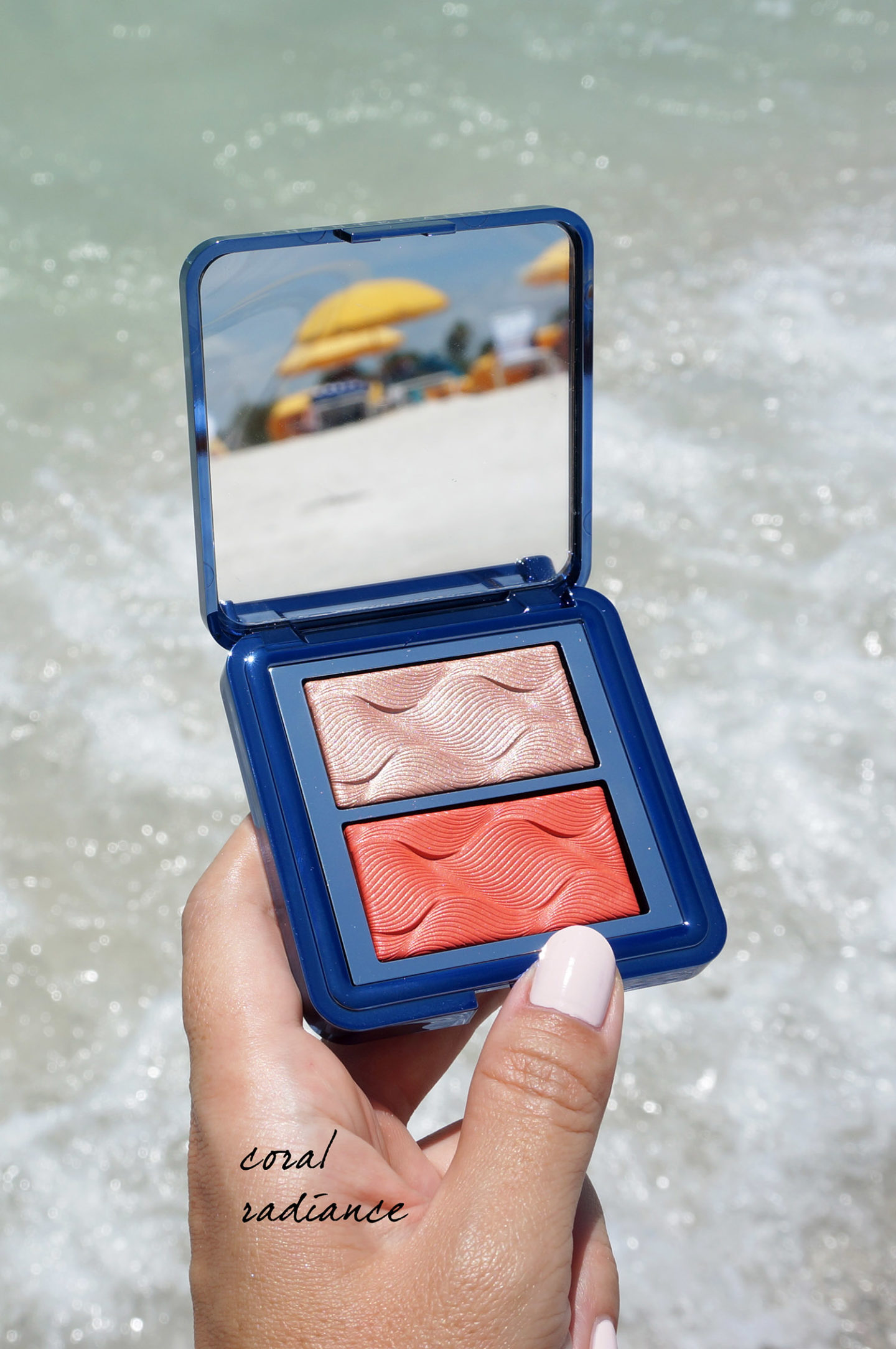 Radiance Chic Cheek and Highlighter Duo Coral Radiance