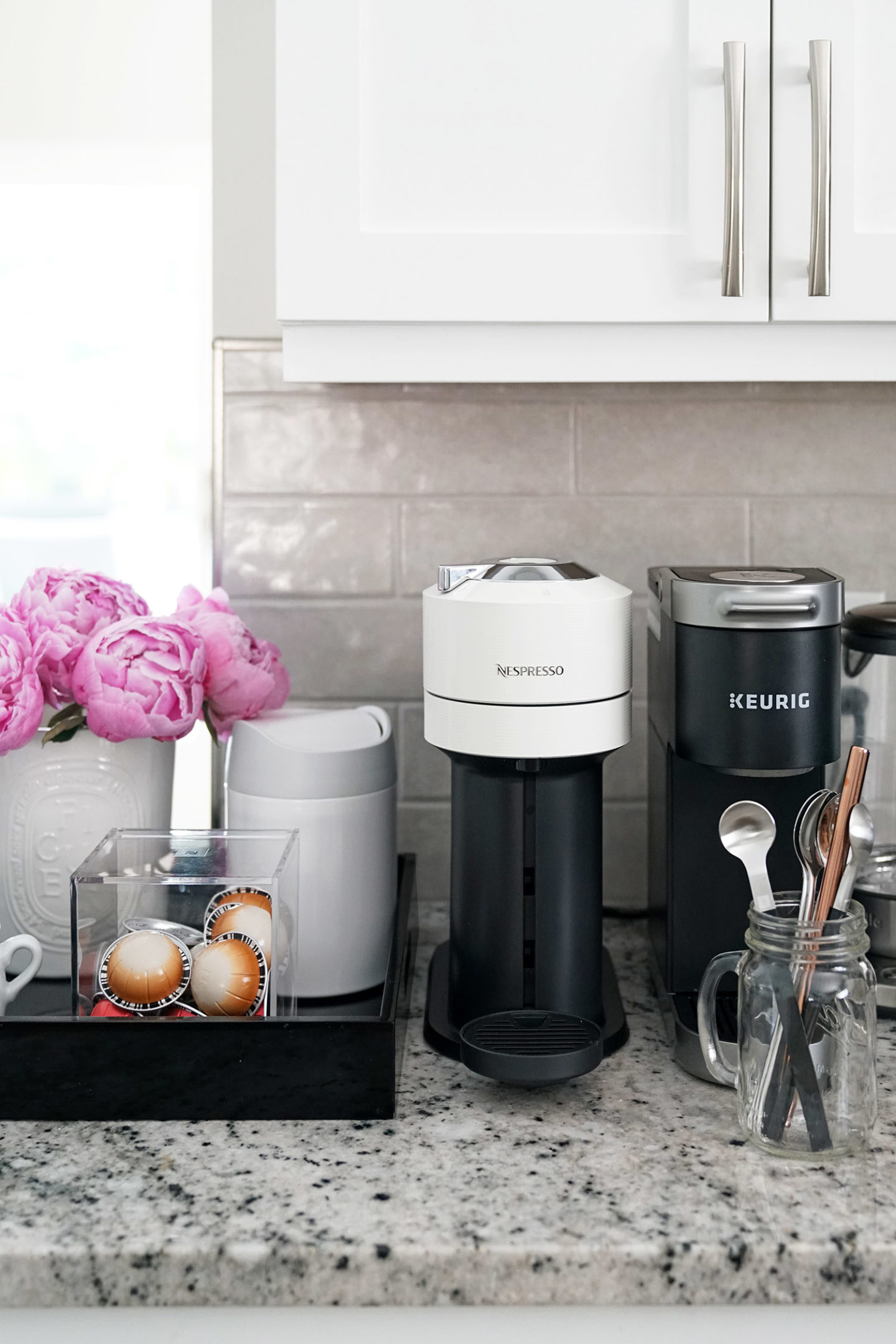 Home Kitchen Nespresso Vertuo Next and Keurig K-Mini