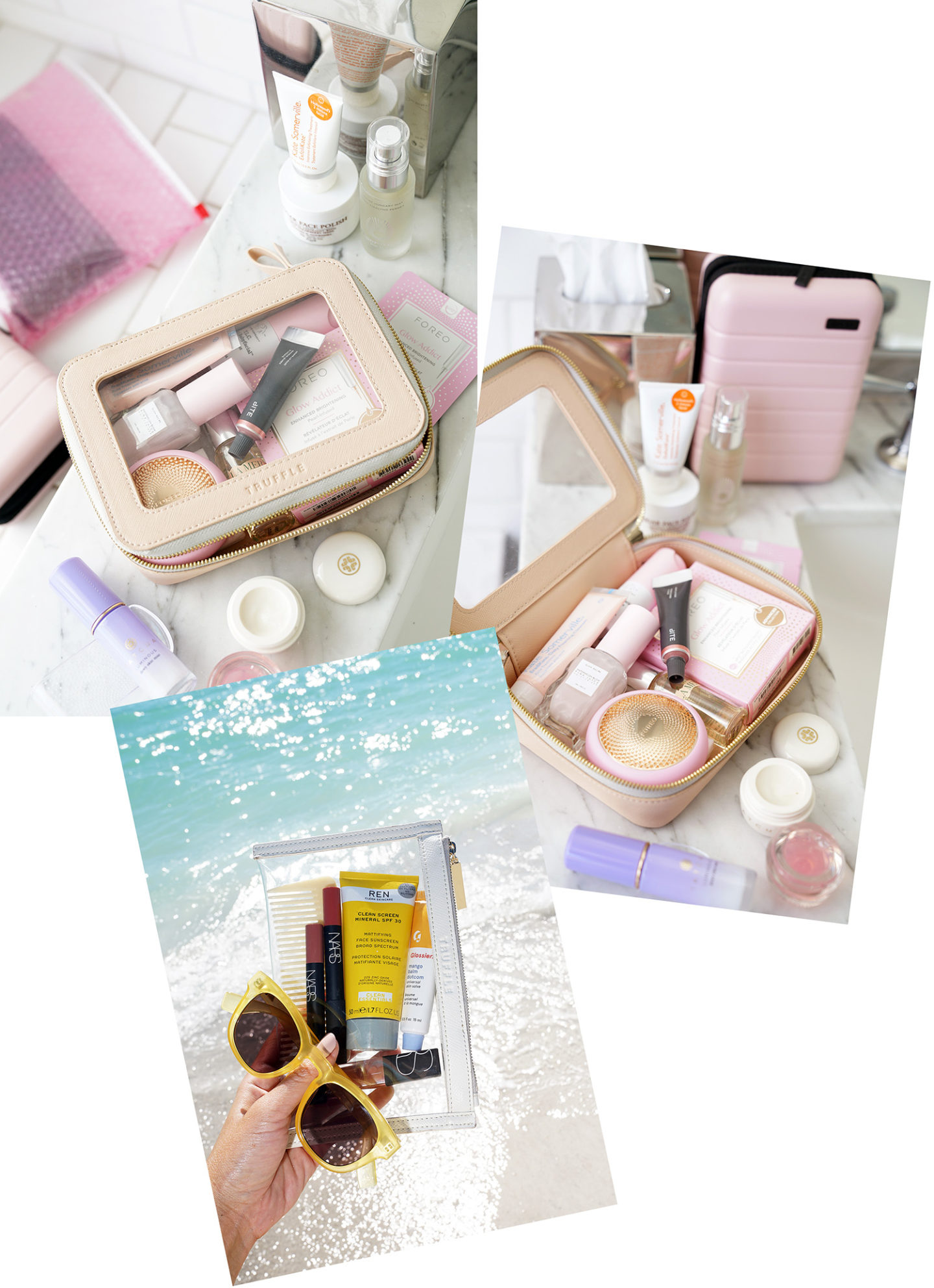 Truffle Clear Makeup Bags