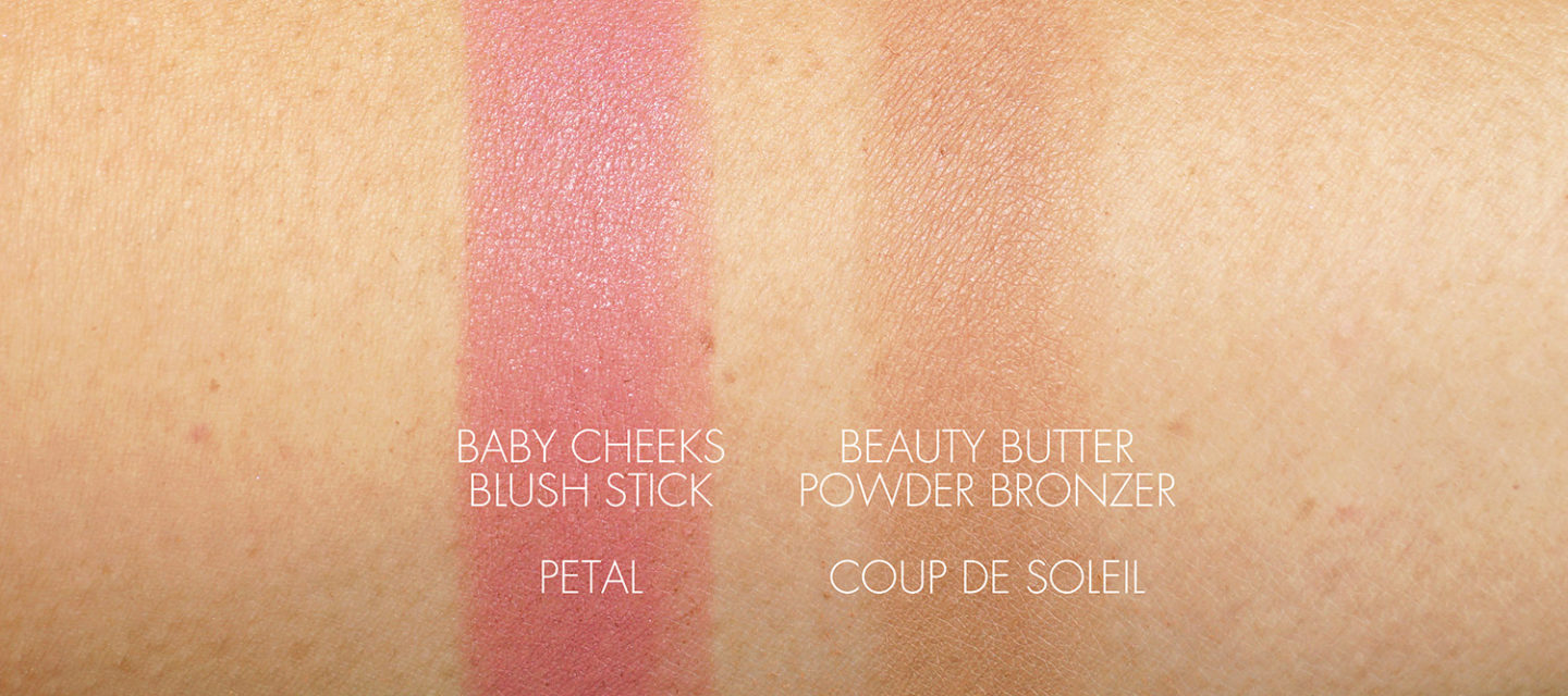 Westman Atelier Baby Cheeks Petal and Powder Bronzer Coup de Soleil swatch