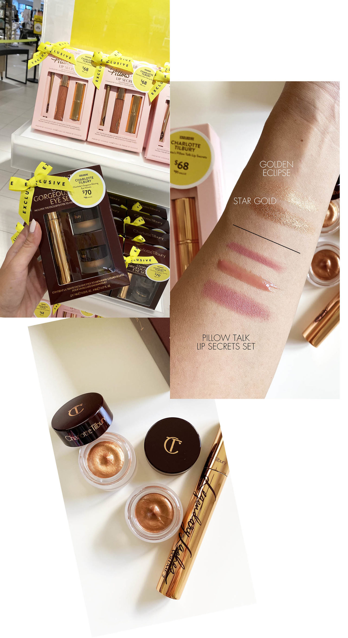 Nordstrom Sale Beauty Exclusives Charlotte Tilbury Sets and Swatches