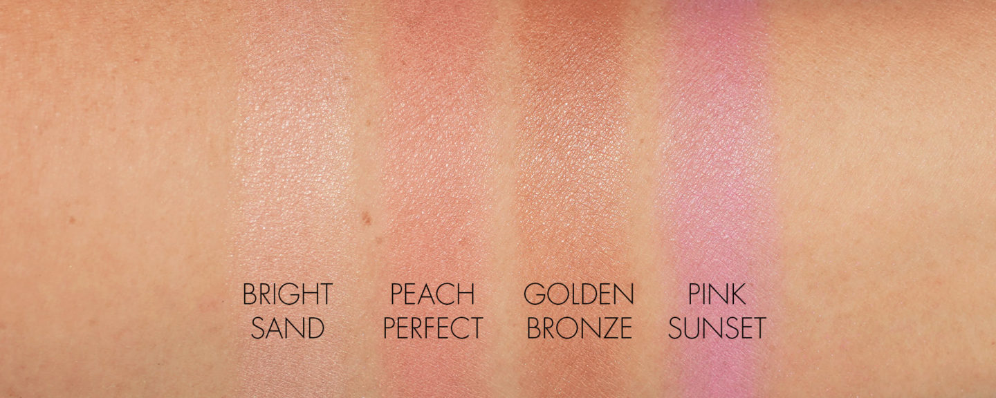 By Terry Brightening CC Palette Beach Bomb swatches