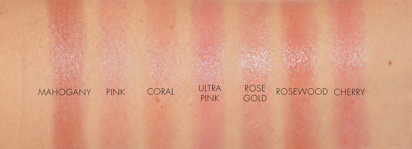 Dior Lip Glow swatches | Beauty Look Book