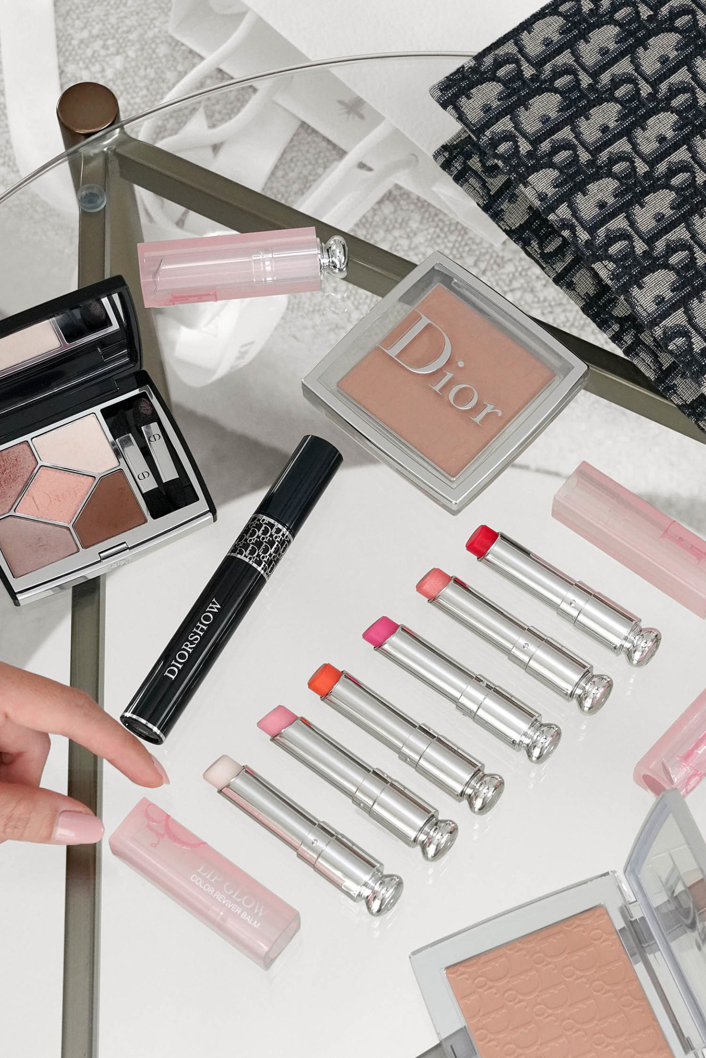 Dior Lip Glow Review via The Beauty Look Book
