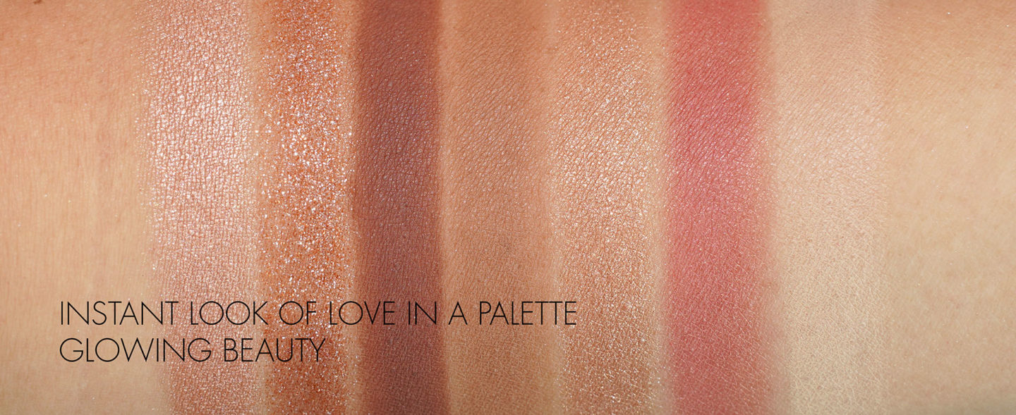 Charlotte Tilbury Instant Look in Glowing Beauty swatches
